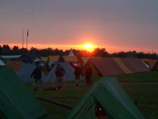 "troop 324 at the danish national jamboree ""bla sommer 2004"""