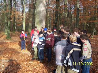 Sports LockIn and Orientieering November 2006