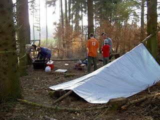 Survival campout 02/08