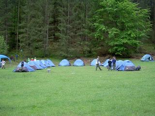 Whitewater campout Garmisch 05/08