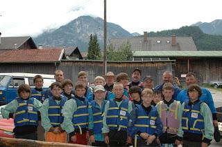 Troop 324 Garmisch High Adventure Camp June 2009