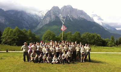 Garmisch High Adventure Troop Camp June 2012