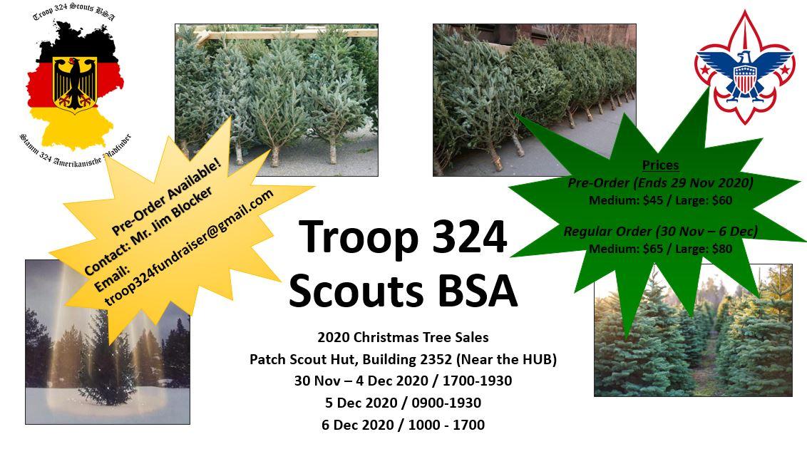 2020 Christmas Tree Sales